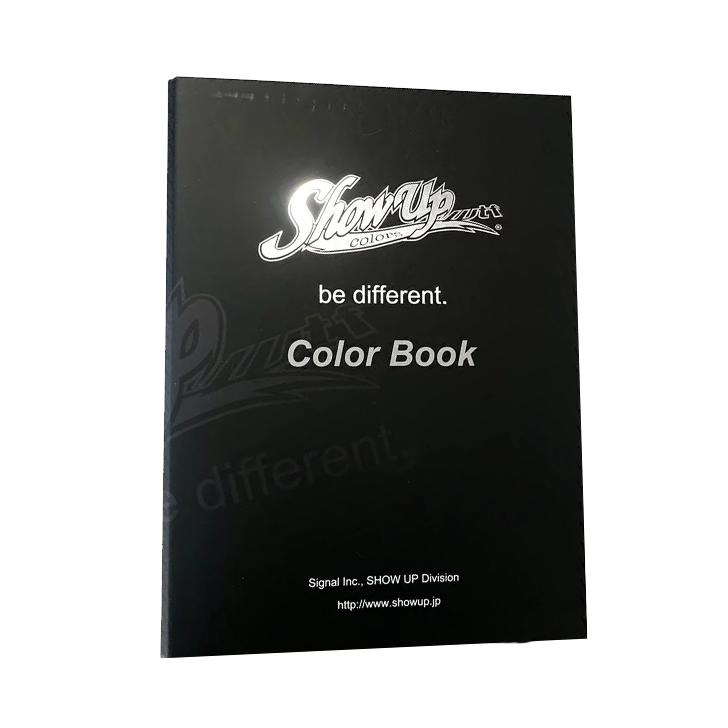 ShowUp Colors COLOR BOOK カラーブック