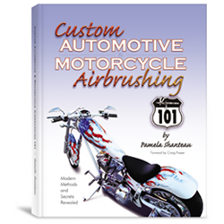 Custom Automotive Motorcycle Airbrushing(MG2)