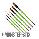マック・ブラシ MACK TIDWELL - MONSTER STIX 7PcSet