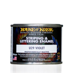 ハウスオブカラー (U) STRIPING & LETTERING URETHANE ENAMELS 4oz(118mL)