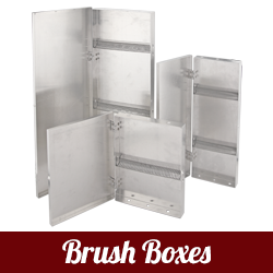 Mack Metal Brush Box (aluminum)