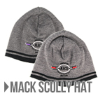 Mack Gray Logo Scully Hat