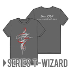 Mack T-SHIRT Series T-WIZARD Gray シリーズ